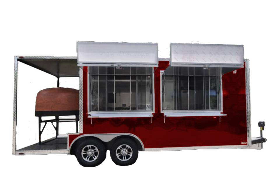 The Cucina 20ft | A Complete Wood-Fired Restaurant on Wheels