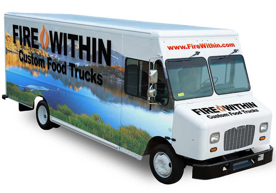 Custom Food Truck | Finally a custom food truck  with a Fire Within oven built in.